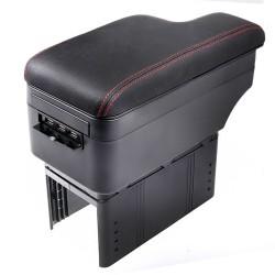 Κονσόλα χειροφρένου - universal τεμπέλης αυτοκινήτου με 5 USB
