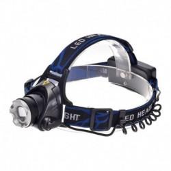 Επαναφορτιζόμενος αδιάβροχος φακός κεφαλής με CREE LED Q5 - 1800lm