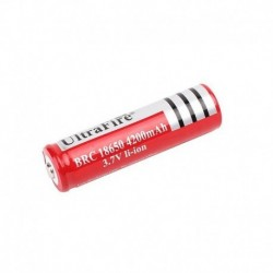 Επαναφορτιζόμενη μπαταρία λιθίου UltraFire BRC 18650 4200mAh 3.7V