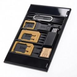 Σετ sim card μετατροπείς με εξαγωγέα και card reader