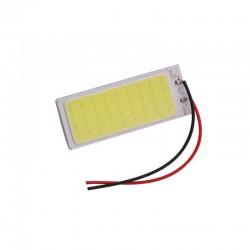 COB LED 12V/8W με λευκό φως για το εσωτερικό του αυτοκινήτου