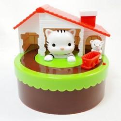 Κουμπαράς - παιχνίδι γάτας και ποντικιού