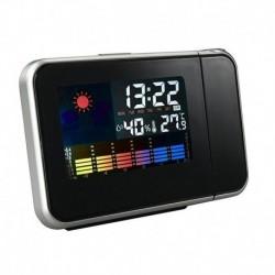 Ρολόι - ξυπνητήρι με προτζέκτορα και ένδειξη ημερομηνίας και θερμοκρασίας