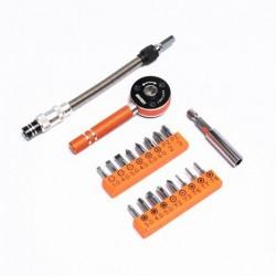 Σετ εργαλείων με μαγνητικά κατσαβίδια και καστάνια - JM-6119