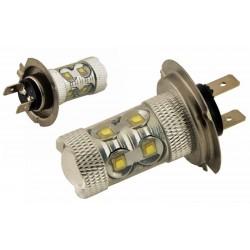 Λάμπα LED H7 3W / 12V / 6000K / 10 smd