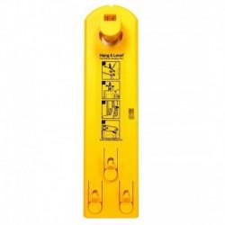 Εργαλείο με αλφάδι Hang & Level για κρέμασμα κάδρων