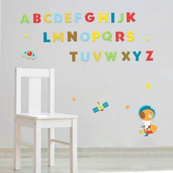 Αυτοκόλλητο τοίχου - Letters