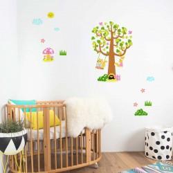 Αυτοκόλλητο τοίχου - Tree