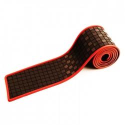 Προστατευτικό κάλυμμα προφυλακτήρα για το αυτοκίνητο - Μαύρο/Κόκκινο