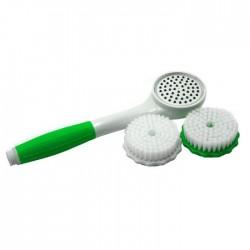 Τηλέφωνο ντους με ενσωματωμένο φίλτρο νερού και βούρτσα καθαρισμού - Λαχανί