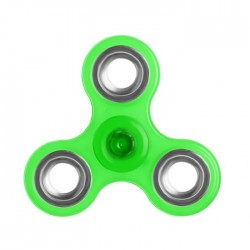 Αγχολυτικό παιχνίδι Fidget Spinner Anti Stress 1 minute - Green/Silver