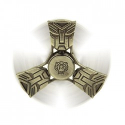 Αγχολυτικό παιχνίδι Fidget Spinner Transformers Anti Stress 4 minutes - Gold