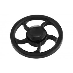 Αγχολυτικό παιχνίδι Fidget Spinner Wind Wheel Aluminium Alloy 3 minutes - Black
