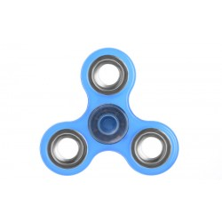 Αγχολυτικό παιχνίδι Fidget Spinner Anti Stress 1 minute - Blue/Silver 50700