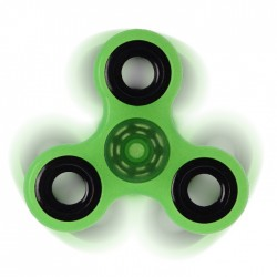 Αγχολυτικό παιχνίδι Fidget Spinner Anti Stress 1 minute - Green/Black