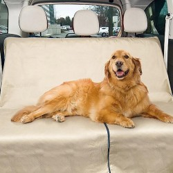 Προστατευτικό κάλυμμα καθισμάτων αυτοκινήτου για τα κατοικίδια - Pet Seat Cover - Μπεζ