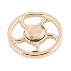 Αγχολυτικό παιχνίδι Fidget Spinner Wind Wheel Aluminium Alloy 3 minutes - Golden