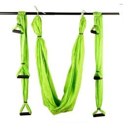 Aerial swing με λαβές για yoga και pilates - Πράσινο