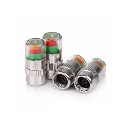 Βαλβίδες με ένδειξη πίεσης των ελαστικών - 4 τμχ