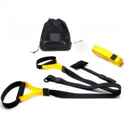 Ιμάντες προπόνησης και εκγύμνασης - Σετ 3 τμχ - Κίτρινο