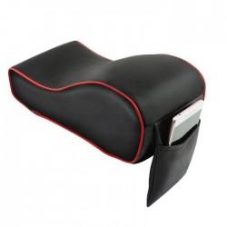 Μαξιλάρι - κάλλυμα τεμπέλη αυτοκινήτου με memory foam - Κόκκινο/Μαύρο
