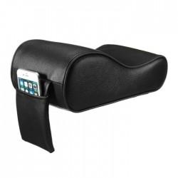 Μαξιλάρι - κάλυμμα τεμπέλη αυτοκινήτου με memory foam -Μαύρο