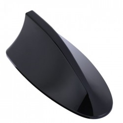 Αυτοκόλλητη κεραία οροφής για το αυτοκίνητο Shark Fin - Μαύρο