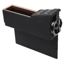 Θήκη οργάνωσης αυτοκινήτου με 4 θύρες USB και ποτηροθήκη