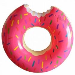 Φουσκωτό σωσίβιο θαλάσσης Donut 120cm - Ροζ