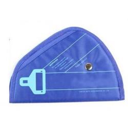 Κάλυμμα για τη ζώνη ασφαλείας στο αυτοκίνητο - Μπλε - LA-374