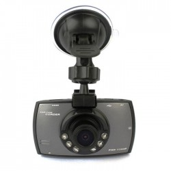 """Αυτόνομη κάμερα/DVR αυτοκινήτου FHD με LCD οθόνη 2.7"""", νυχτερινή λήψη και αισθητήρα κίνησης - Ασημί"""