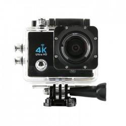 """Αδιάβροχη κάμερα δράσης 4K με 20 αξεσουάρ στήριξης Ultra HD / H.264 / 16MP / 2"""" LCD / Wi-Fi - Μαύρο"""