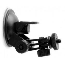 Βάση με βεντούζα για action/κοινή κάμερα & φορτιστής αυτοκινήτου με micro USB