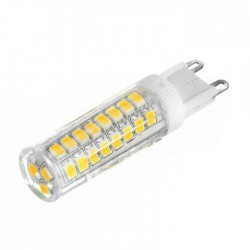 Λάμπα LED ceramic 51 LED G9 / 7W - Θερμό φως