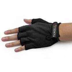 Unisex γάντια ποδηλάτου κοντά - Μαύρο