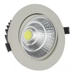 Στρογγυλό σποτ GS-COB LED χωνευτό 20W - Ψυχρό φως