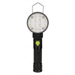 Φορητός φακός 12 LEDs με 4 λειτουργίες