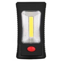 Φακός χειρός 3xLEDs+1xCOB LED με γατζάκι και μαγνήτη - 800Lm