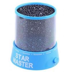 Φωτιστικό Δωματίου με projector σε σχέδια έναστρου ουρανού - Γαλάζιο - Star Master Projector