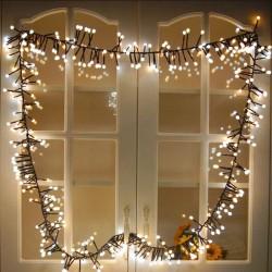 Χριστουγεννιάτικα λαμπάκια 200 Led με λευκό και κίτρινο φωτισμό