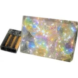 Διακοσμητική γιρλάντα με φωτάκια μπαταρίας Led - 10 λαμπτήρες