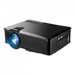 LED projector SD50 60W/1500lm με υποδοχές HDMI/VGA/AV/SD