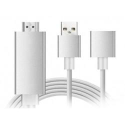 Αντάπτορας 1080P θηλυκού USB σε HDMI για σύνδεση iOS/Android με TV/Projector