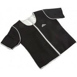 Ανδρική μπλούζα εφίδρωσης - αδυνατίσματος με φερμουάρ - HEATOUTFIT
