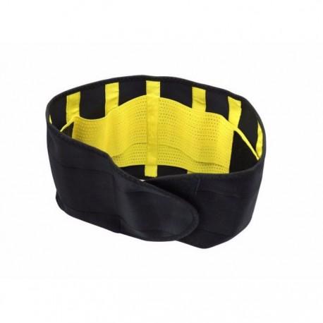 Ελαστικός κορσές μέσης - ζώνη εφίδρωσης - Hot Shapers Power Belt - Κίτρινο