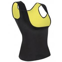 Γυναικεία μπλούζα αμάνικη εφίδρωσης και αδυνατίσματος από Neoprene ΟΕΜ 52910