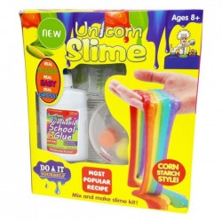 Χλαπάτσα Slime DIY - Rainbow