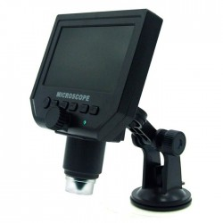 """Ψηφιακό επαναφορτιζόμενο μικροσκόπιο 600x με οθόνη 4.3"""" & κάμερα 3.6MP"""