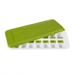 Πλαστική παγοθήκη για 14 παγάκια με αποσπώμενο καπάκι