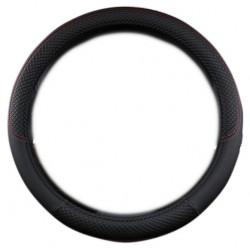 Κάλυμμα τιμονιού PU Φ38cm για το αυτοκίνητο - Μαύρο